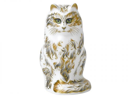 Royal Crown Derby Fifi Cat