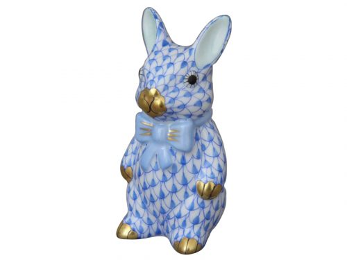 Blue Bunny with Bowtie