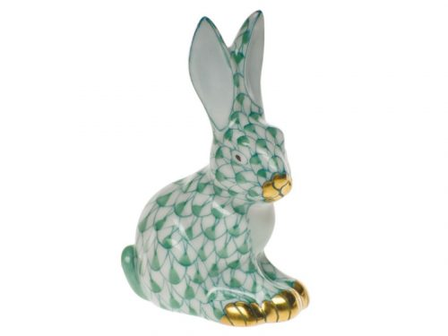 Sitting Rabbit Miniature Herend