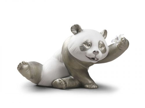 Lladro A Jolly Panda (Re-Deco) 01009091