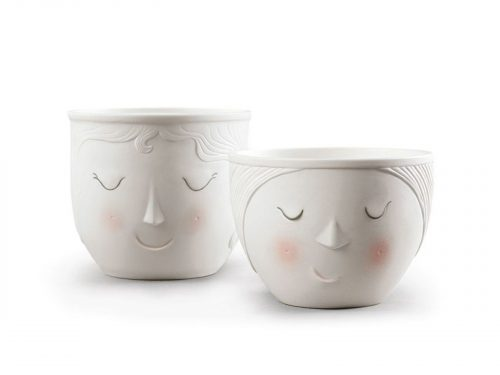 Lladro Porcelain Better Together Candle Set 01040162