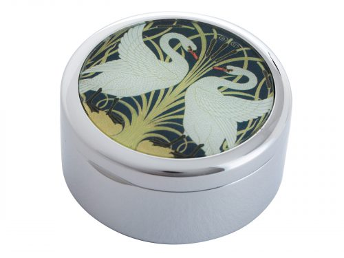 This beautifully crafted Pillbox by John Beswick comes with a stunning extract from Walter Crane's