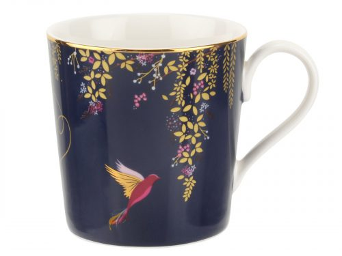 Sara Miller London Navy Mug