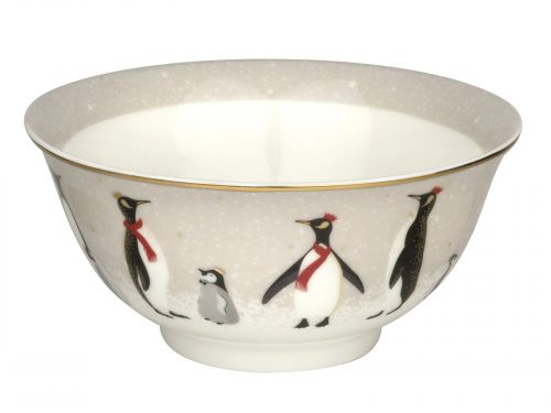 Sara Miller London Penguin Christmas Collection Candy Bowl SMPE79010-XG