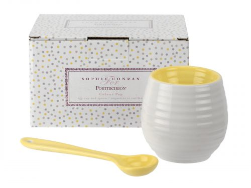 Sophie Conran Boxed Set Egg Cup & Spoon - Sunshine
