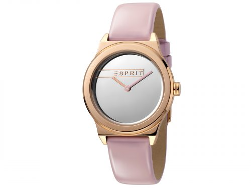 Esprit Pink Patent Leather Watch
