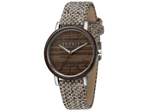 Esprit Light Brown Canvas Watch