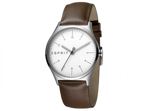 Esprit Brown Calf Leather Watch