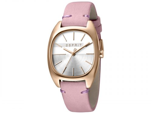 Esprit Pink Calf Leather Watch