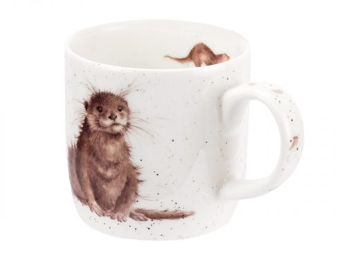 This Mug features a beautifully detailed illustration of an otter, would make a lovely gift for any animal lover. Size: 0.31L - 11fl.oz. By: Wrendale. Product Code: MMOG5629-XT.