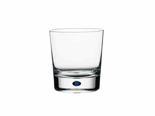 Orrefors Intermezzo Blue Double Old Fashioned Glasses 6257441