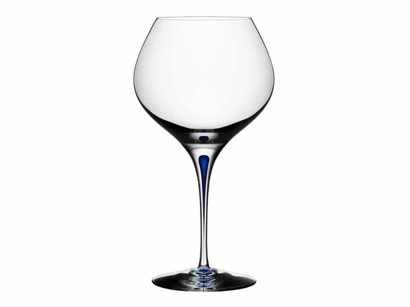 Orrefors Intermezzo Blue Bouquet Glasses 6257461