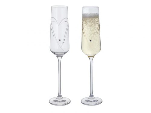 Dartington Romance Pair of Flutes ST2664/5/P