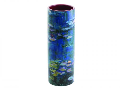 Monet Water Lillies Small Vase John Beswicj