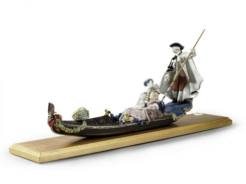 Lladro Gondola in Venice (Limited Edition of 500)