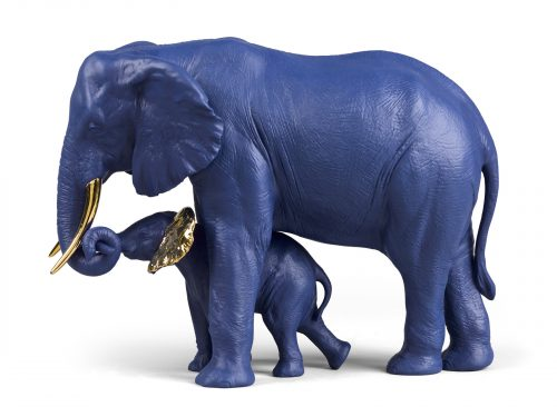 Lladro Leading The Way - Blue & Gold (Limited Edition of 300)