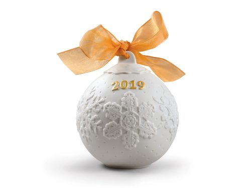 Lladro 2019 Christmas Ball - Re-Deco