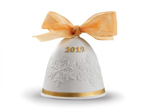 Lladro 2019 Christmas Bell - Re-Deco
