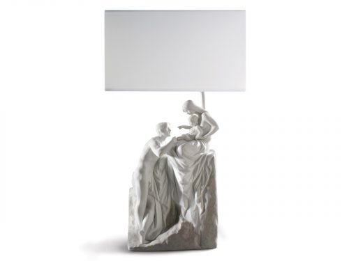 Lladro Family Lamp