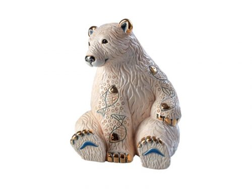 De Rosa Polar Bear with Fish