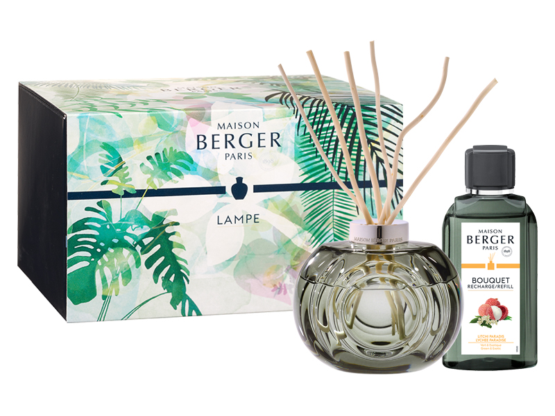 Maison Berger Giftset - Grey Boquet Diffuser / Immersion