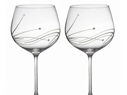 Crystal Copa Glasses