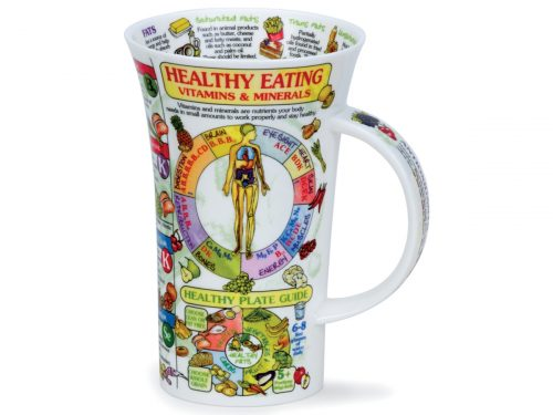 Dunoon Glencoe Healthy Eating Mug