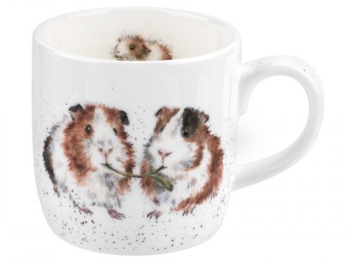 Guinea Pigs Eating Mug by Wrendale